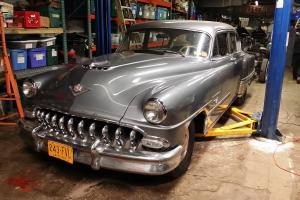 1953 DESOTO FIREOME HEMI 8 CYLINDER BARN FIND HOT ROD MERCURY GRILL TEETH STOCK!