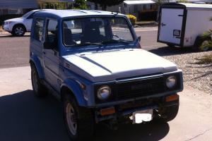 1986 Suzuki Samurai JA Sport Utility 2-Door 1.3L