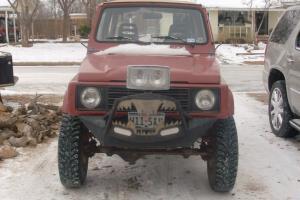 1986 Suzuki Samurai 34,000 original miles