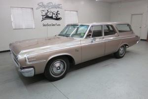 """Original"" 1964 Dodge 440 4 Dr. 2 Seat Station Wagon w/ just 49 K orig.miles too"