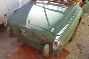 TWO TR3 PROJECT CARS MORE OR LESS COMPLETE SITTING OUTSIDE IN SAN JOSE CA YEARS!
