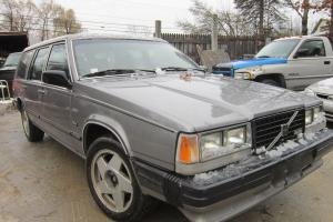1985 volvo 740 Turbo Diesel wagon 3rd seat many new / recent parts runs great Photo