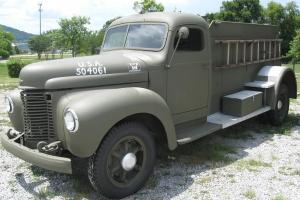 1942 International Harvester Crash Truck / Fire Truck