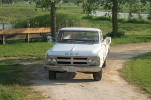 1968 GMC 2500 2wd camper special