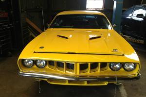 1971 plymouth cuda barracuda 440 automatic