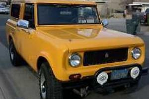 1963 international scout 80 original, runs in perfect condition,