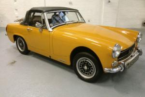 Austin HEALEY SPRITE 1971 Classic MK11 FULL RE - BUILD Tax Exempt Full HISTORY  Photo