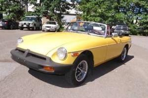 1974 Yellow! Convertible Great Driver New Stereo No Apparent Rust Clean Interior