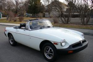 BEAUTIFUL 1976 MGB MARK lV ROADSTER 89K ACTUAL MILES NICE !!