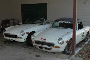 1973-1974 MGBs  FOR PARTS OR RESTORATION (two cars)