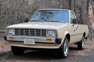 1980 PLYMOUTH ARROW PICKUP MITSUBISHI FORTE One Owner, Original Title