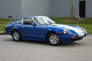 280ZX COUPE 5 SPD MANUAL RUNS GREAT BLUE WHITE STRIPES