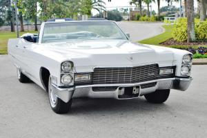 The rarest 68 Cadillac 4 door Deville Convertible you will ever see 1of 1 right