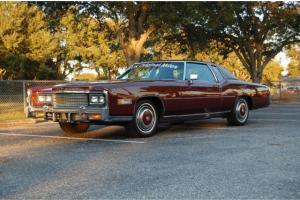 1978 Cadillac Eldorado 34K Original Miles Survivor Rust Free Time Capsule Caddy Photo