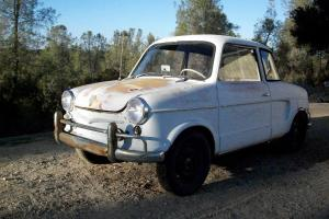 1959 NSU Prinz Restoration Project Photo