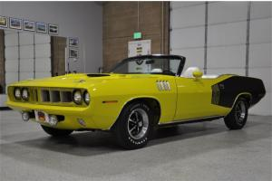 1971 PLYMOUTH 'CUDA CONVERTIBLE - *The Best in the World! - Heavily Documented!