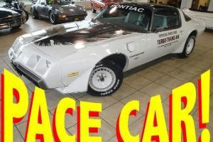 RARE FIND! 1980 Pontiac Trans AM INDY 500 PACE CAR 34K Original MILES T-TOPS AC