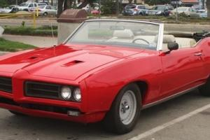 1969 LEMANS CONVERTIBLE w/ OVERDRIVE  EVERY DAY  DRIVER  GTO CLONE