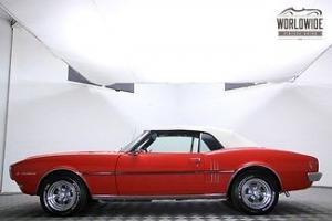 1968 PONTIAC FIREBIRD CONVERTIBLE FRAME OFF RESTORATION! FACT A/C! V8!! STUNNING