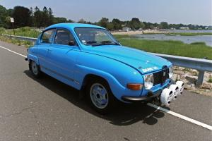 1970 SAAB 96  RALLY CAR