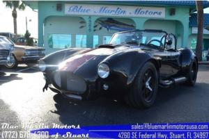Backdraft Racing Shelby Cobra Roadster - 427 Ford V8, 5-speed Manual LOW MILES
