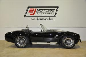 1965 Shelby Cobra Only 3K Miles Big Block 427 Black and Silver All Tops