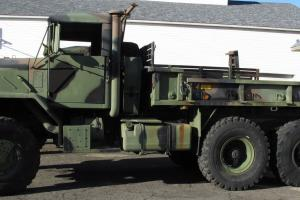 1988 BMY M923A2 5-TON MILITARY HARD-TOP CARGO TRUCK 8.3 TURBO CUMMINS AUTOMATIC