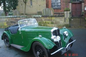 BSA Green Scout Car. Beautiful and Rarely Available