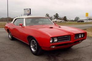 1969 PONTIAC CONVERTIBLE GTO TOURING  CLONE CAR Photo