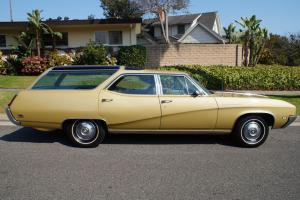 1969 Rare Orig California 'Black Plate' Sport Wagon with optional 400/340HP V8