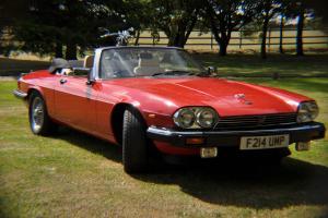 Jaguar XJ-S 5.3 Convertible Auto 63788 miles