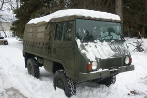 Pinzgauer 710M Swiss Army Military All Terrain Vehicle - 4 Wheel