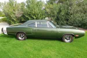 1970 Super Bee - 383 / 330 HP, automatic. Rare original color, matching numbers