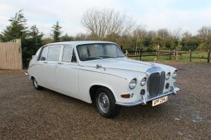 1970 DAIMLER DS420 LIMO , WHITE , GREAT WEDDING CAR , TAX EXEMPT