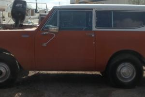 1980 International Scout Diesel PROJECT Photo