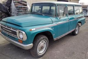 1968 interantional travelall 1100c Photo