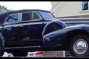 VERY RARE 1938 CADILLAC LASALLE 4dr CONVERTIBLE Sedan  ONLY 5 EXIST, MUSEUM CAR!