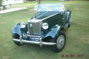 1953 MG T-Series Convertible  (Antique Replica, fully functional)