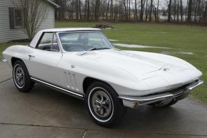 1965 Chevrolet Corvette Roadster L79 327ci 350hp Numbers Matching W. Hardtop