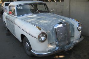 1958 MERCEDES PONTO 220 S COUPE WITH FACTORY SUNROOF