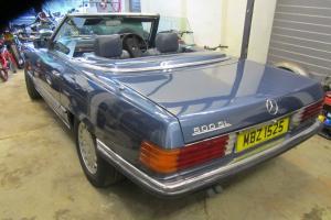 Mercedes Benz 500 SL W107 S/H TOPS LAPIS BLUE