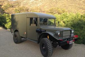 1958 Dodge Power Wagon Ambulance Turbo-Diesel