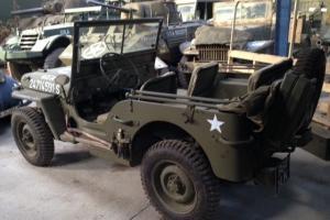 WWII 1944 willys jeep Photo