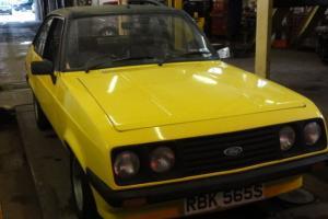 NO RESERVE 1978 MK2 FORD ESCORT RS2000