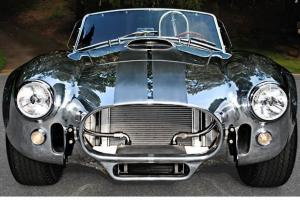 Kirkham Shelby polished Cobra with 482 Kieth Craft motor