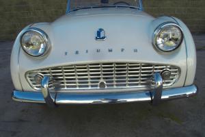 1959 Triumph TR3A, overdrive, wirewheels, California