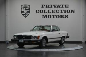 1978 Mercedes Benz 450SL *WHITE/RED *PRISTINE *WELL KEP