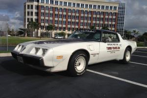 1980 Trans AM Indianapolis Pace Car.  50,639 Original Miles.