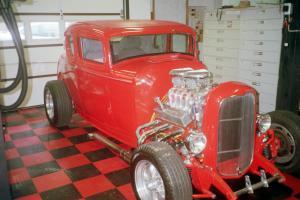 32 Ford Steel 5 Window Street Rod
