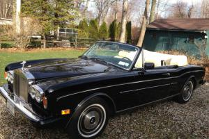 1985 Rolls Royce Corniche Black. Mulliner Park Ward Only 19200 miles Photo